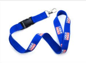 Top Selling Custom Polyester Lanyard with Metal Buckle